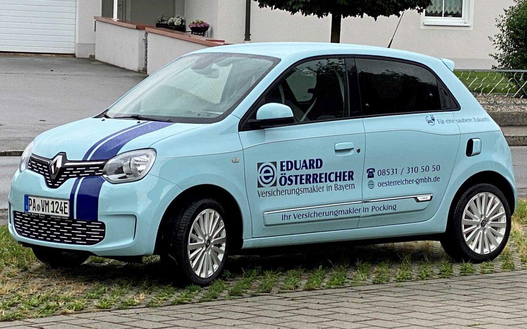 Firmenfahrzeuge für eine saubere Zukunft
